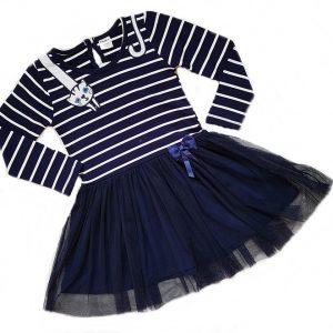 kokybiska trikotazine suknele mergaitei Kate