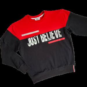 Džemperis berniukui Just Believe