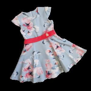 Puošn suknelė mergaitei su gelemis
