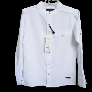 Balti marškiniai berniukui