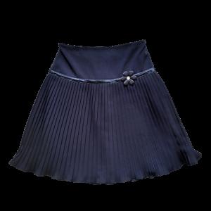 Melynas mokyklinis sijonas mergaitei