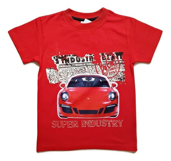 Marškinėliai maike CAR (žybsi lempos)