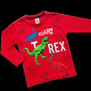 palaidine berniukui su Dinozauru