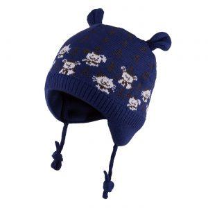 merino vilnos kepurė berniukui