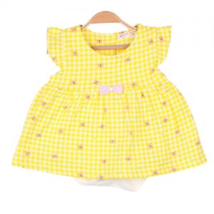 Breeze suknele romperiukas geltona