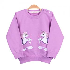 džemperis su vienaragiais mergaitei
