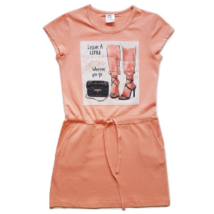 vasarine trikotazine suknelė mergaitei