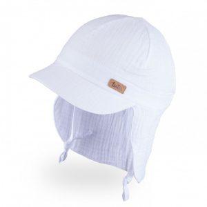Tutu vasarine kepure su kaklo apsauga